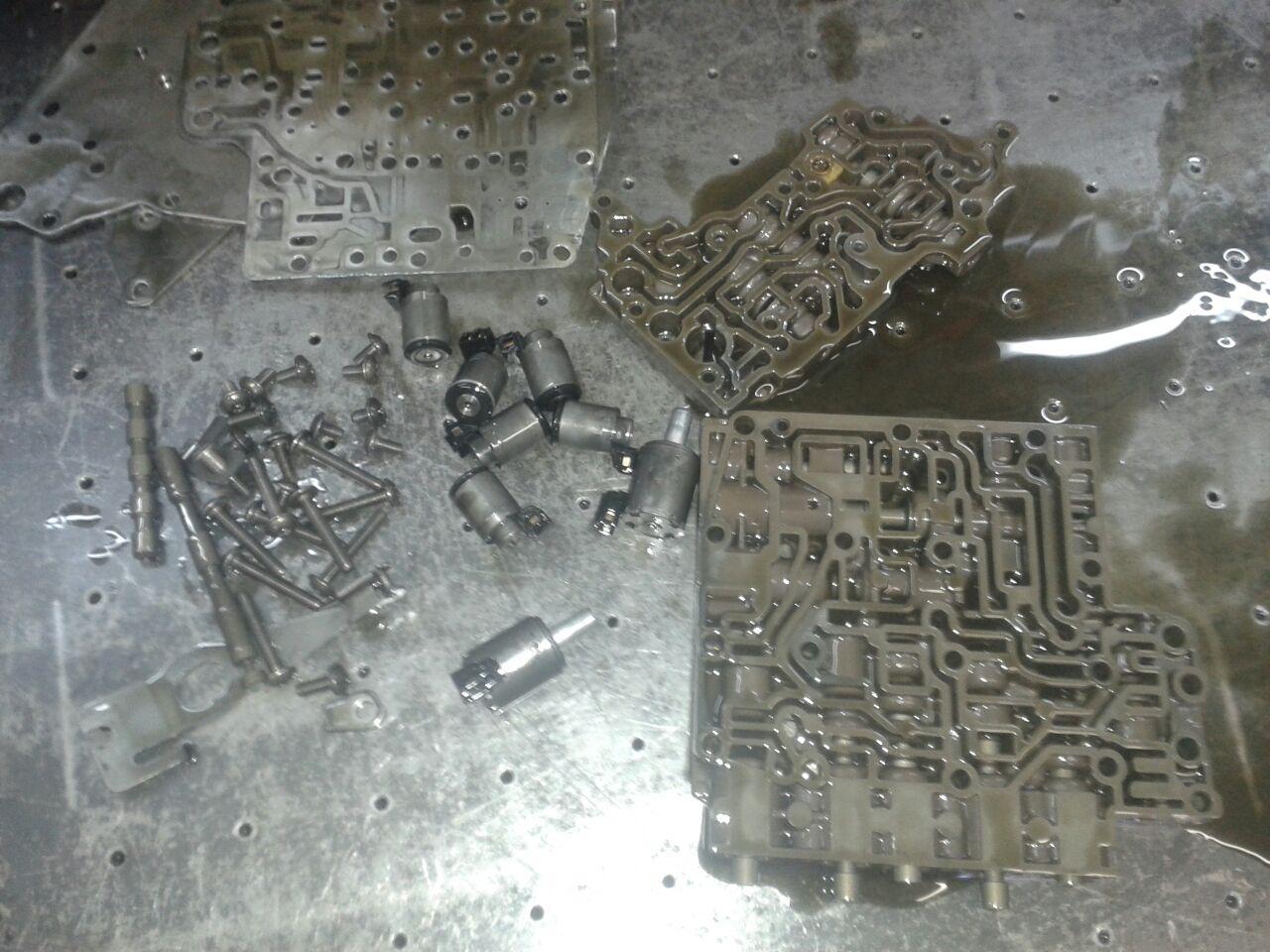 Ремонт гидроблока АКПП DP0 AL4