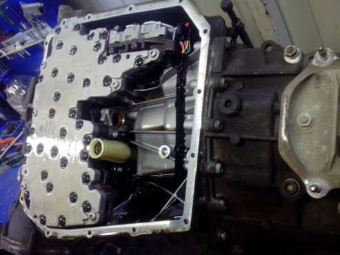 ремонт DSG Audi Q5 2