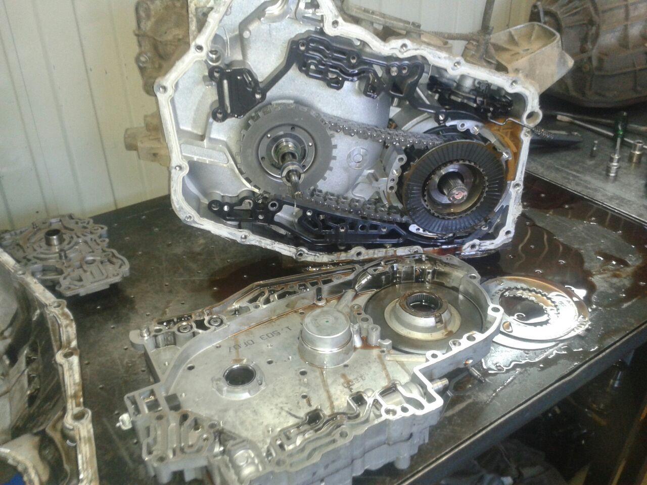 Дефектовка АКПП Volvo XC90 2