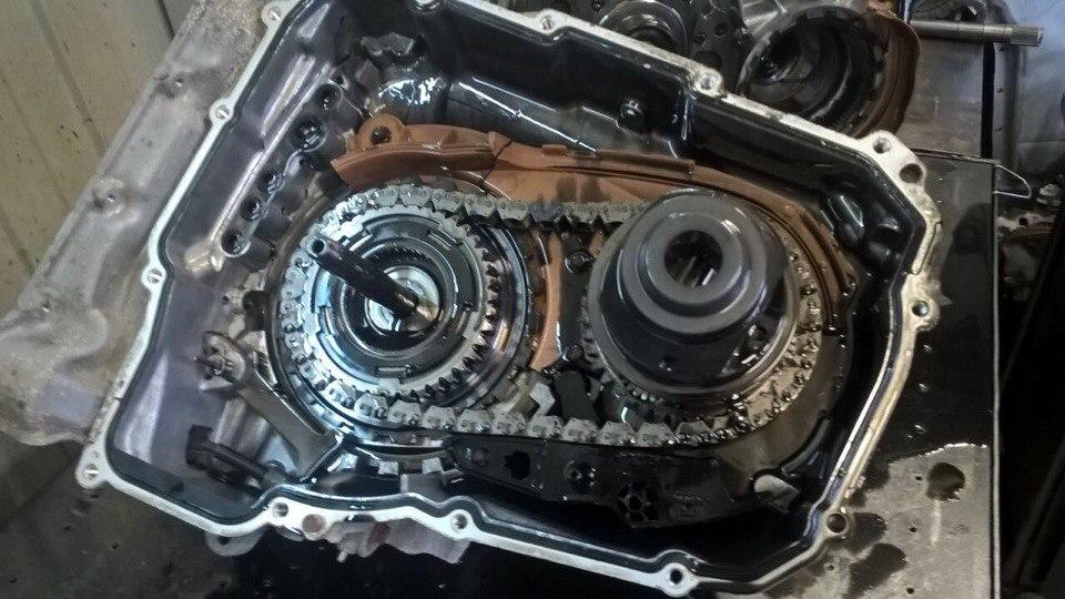 ремонт акп 6Т30 Шеви Круз